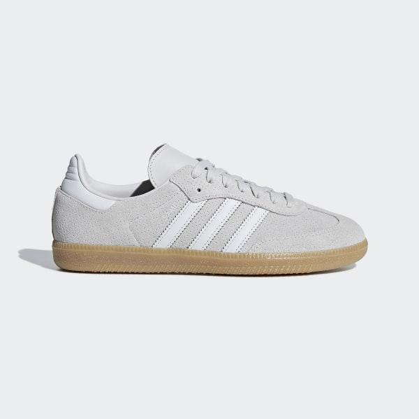 Samba OG Shoes Grey   Grey   Crystal White B44698 c556d9bb1