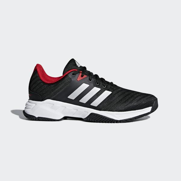 90b76a458f740b adidas Barricade Court 3 Shoes - Black