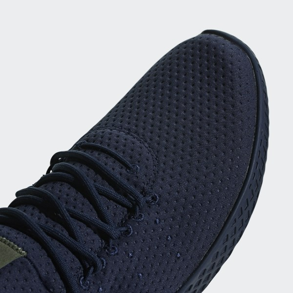 40924ed069b85 Pharrell Williams Tennis Hu Shoes Collegiate Navy   Collegiate Navy   Off  White B41807