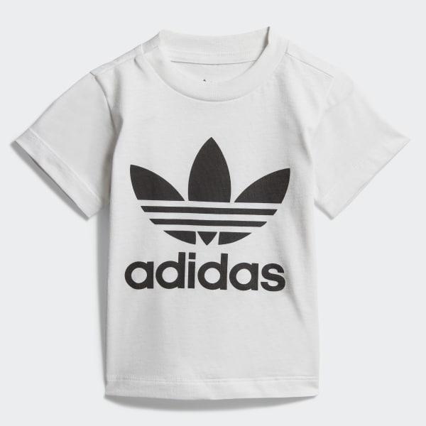 ab8a8ef9636 adidas Trefoil T-Shirt - White