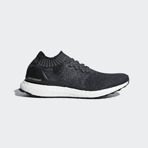 48e0180ebed73 Ultraboost Uncaged Shoes Carbon Core Black Grey Four DB1133