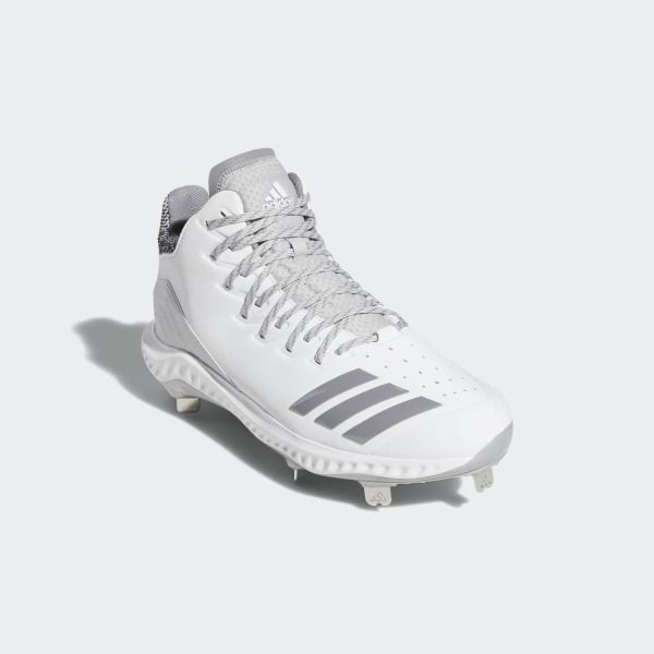 8092419398a8d Icon Bounce Mid Cleats Cloud White   Grey Three   Grey Two CG5181