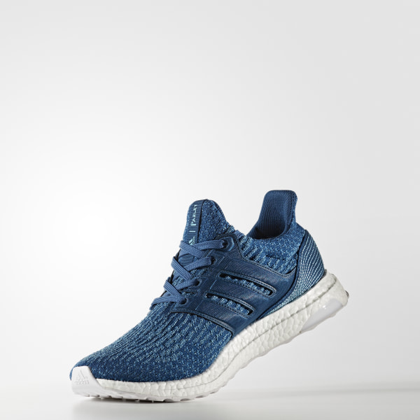 bd4384a41c1194 Ultraboost Parley Shoes Blue Night   Core Blue   Blue BB4762