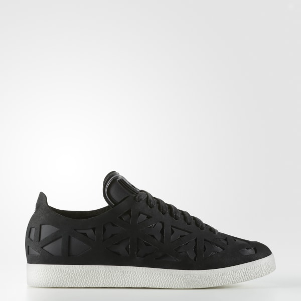 59faec624a0 Gazelle Cutout Shoes Core Black   Core Black   Off White BY2959