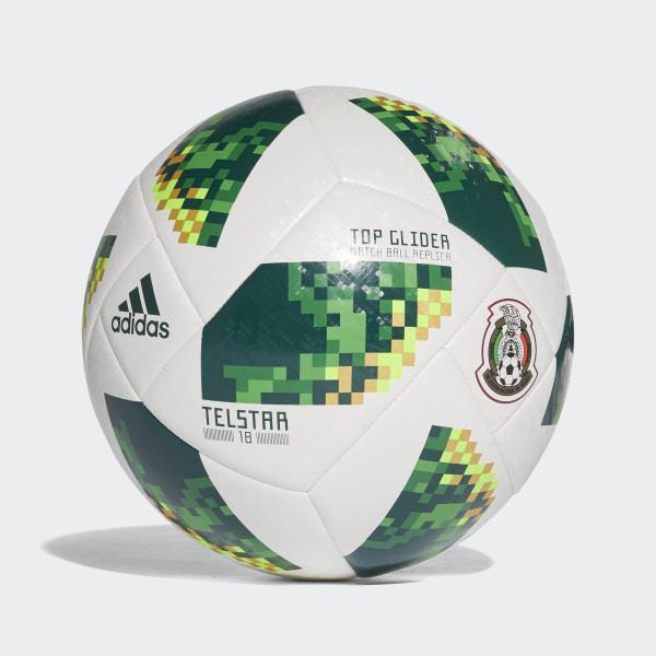 Balón Mexico FIFA World Cup 2018 WHITE COLLEGIATE GREEN CE9972 92c99d6841255