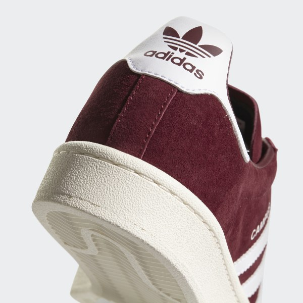 d2c2cf31a64f72 Campus Shoes Collegiate Burgundy   Cloud White   Chalk White BZ0087