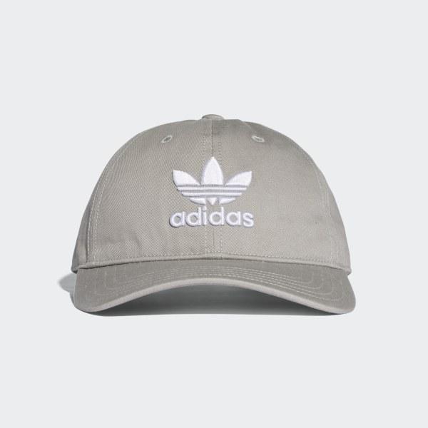 adidas Trefoil Hat - Grey  1eb3219d7bf