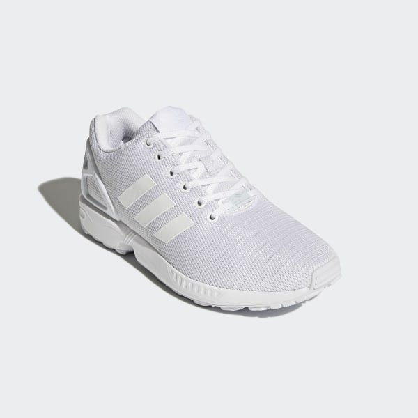 e12452258e285 ZX Flux Shoes Footwear White   Clear Grey   Cloud White S32277