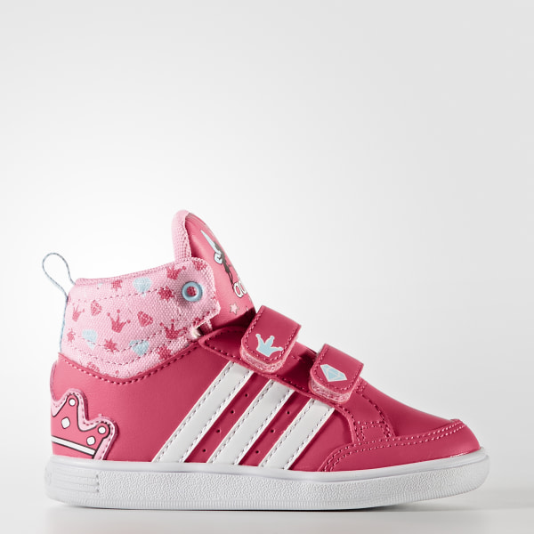 ea9499ccedb Zapatillas NEO Hoops Mid SUPER PINK F15 FTWR WHITE LIGHT PINK CG5738