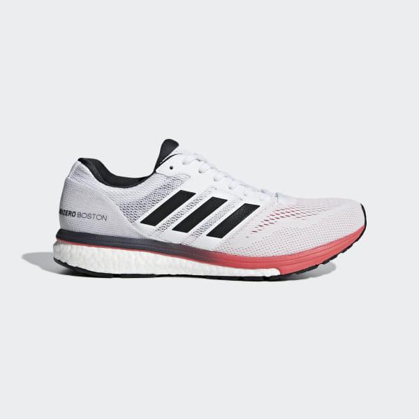 978d11746ee5 Adizero Boston 7 Shoes Cloud White   Carbon   Shock Red B37381