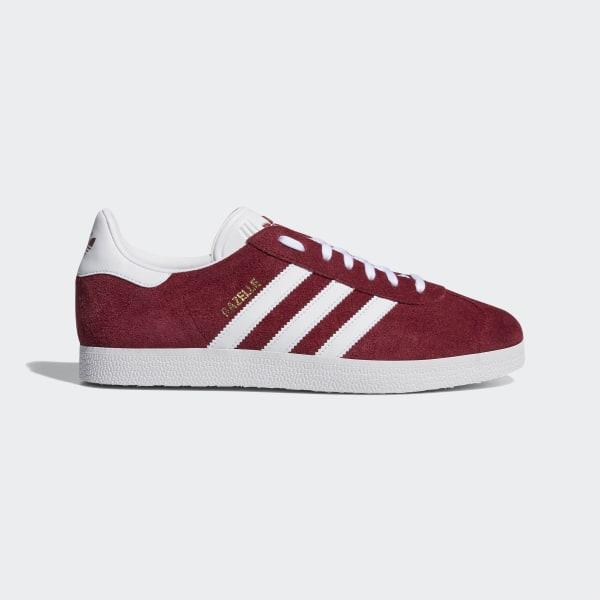Gazelle Shoes Collegiate Burgundy   Ftwr White   Ftwr White B41645 3845ee4ec