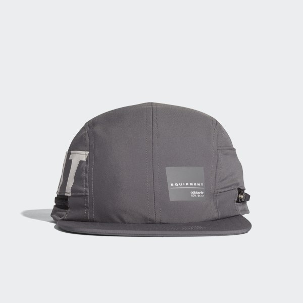 EQT Four-Panel Cap Grey   White CD6952 3cb49656cf3