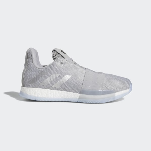 outlet store 0521b 6f095 Harden Vol. 3 Shoes Grey   Silver Metallic   Aero Blue F36443