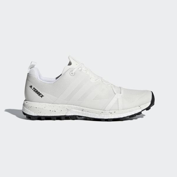 sports shoes a1d95 4ee04 TERREX Agravic sko WhiteNon DyedFtwr WhiteCore Black CM7614