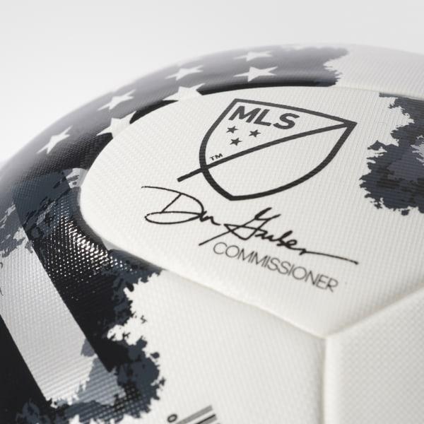 2017 NFHS MLS Top Training Soccer Ball White   Silver Metallic   Black  AZ3214 c74d5ee7a9c34