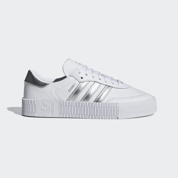 95c504affe38 SAMBAROSE Shoes Ftwr White   Silver Met.   Core Black EE9017