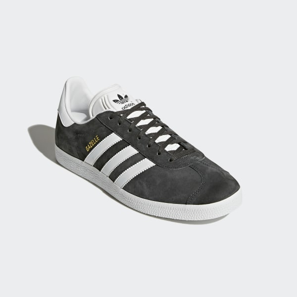 403c010f4ee4 Gazelle Shoes Dark Grey Heather White Gold Metallic BB5480