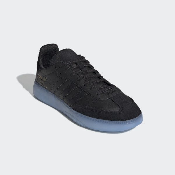 timeless design 8517c e37df Samba RM Shoes Core Black  Shock Cyan  Gold Metallic BD7476