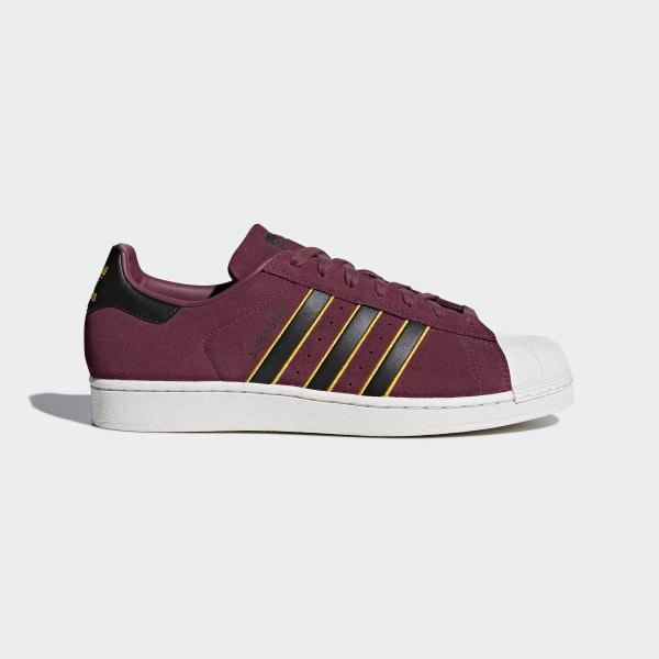 info for 17475 4046e Superstar Shoes Red  Core Black  Yellow Adiprene CM8079