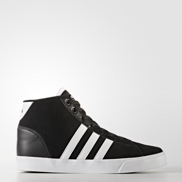 122aab9e8fde Cloudfoam Daily QT Mid Shoes Core Black   Cloud White   Super Pink B74245