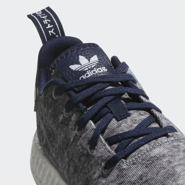 8e6cfc33ddea5 UA SONS NMD R2 Shoes Core Heather   Matte Silver   Cloud White DA8834