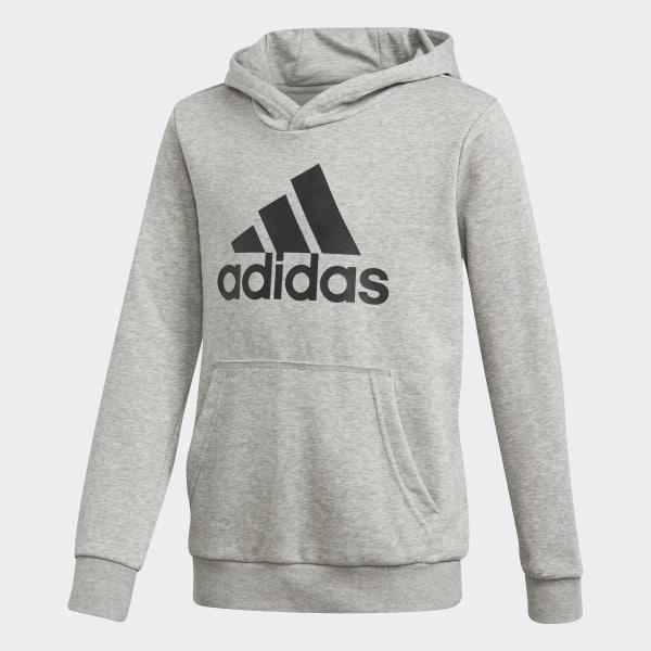 1087dbe57802c adidas Essentials Logo Hoodie - Grey