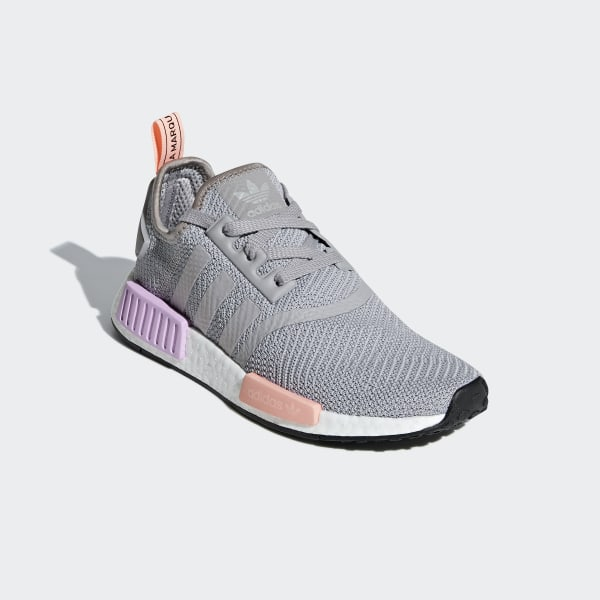 9c11a36069f65 NMD R1 Shoes Light Granite   Light Granite   Clear Orange B37647