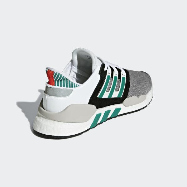 new arrival 1eb28 48601 EQT Support 9118 Shoes Core Black  Clear Granite  Sub Green AQ1037