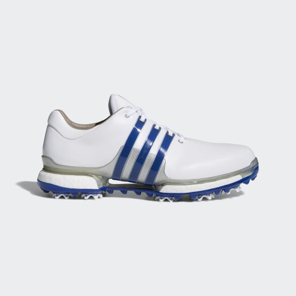 finest selection 57ae2 d9315 Tour 360 Boost 2.0 Shoes Cloud White  Collegiate Royal  Silver Metallic  F33626