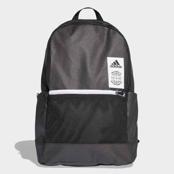 Classic Urban Backpack Grey   Black   White DT2605