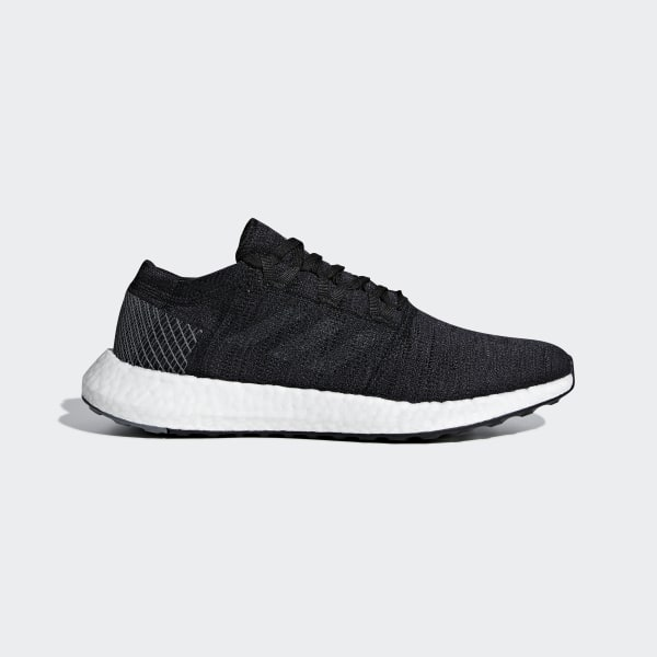 official photos edf8d 88a7e Pureboost Go Shoes Core Black   Grey Five   Grey Four AH2319