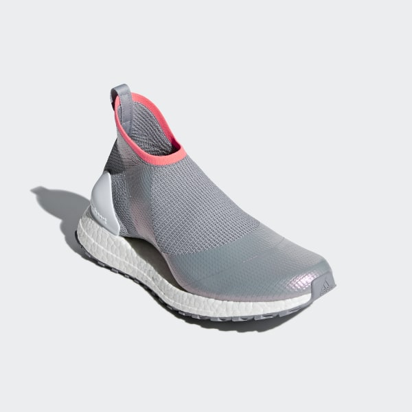 afb3729e44737 Ultraboost X All Terrain Shoes Mid Grey   Cloud White   Turbo AQ0513