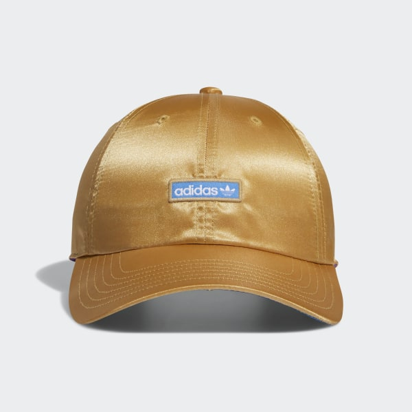 f2bd3213893 adidas Metallic Relaxed Strap-Back Hat - Beige