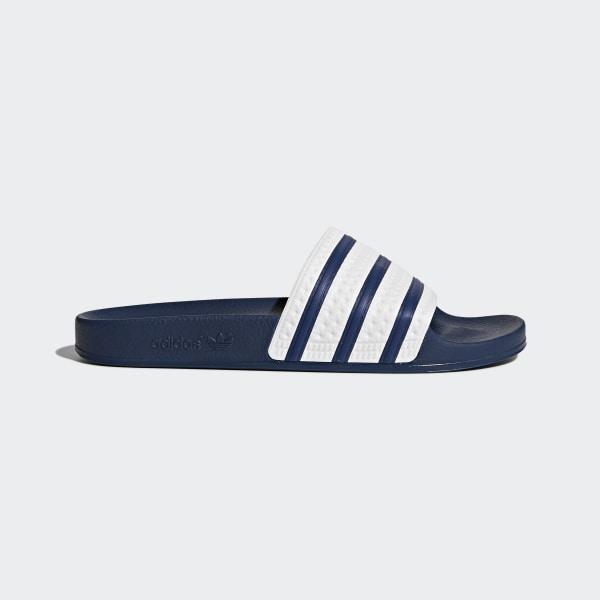 e532cd7ab2c5b2 Adilette Slides adiblue   White   Adi Blue G16220