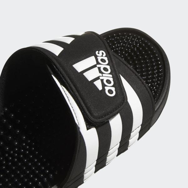 94a0dbb25ccd1e Adissage Slides Core Black   Cloud White   Core Black 078260