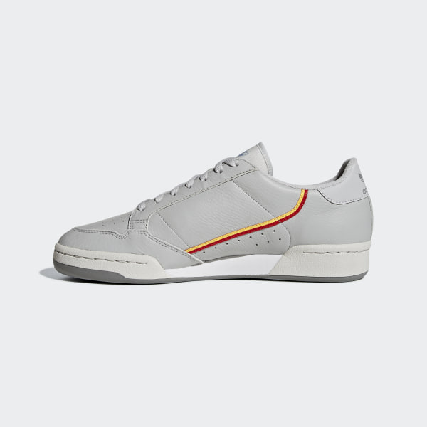 c3c501a54e0de Continental 80 Shoes Grey Two   Grey One   Scarlet CG7128