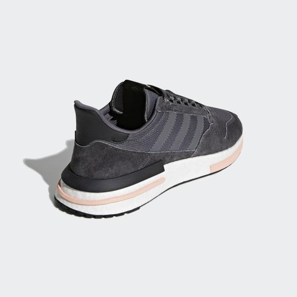 15e231b50428b ZX 500 RM Shoes Grey   Cloud White   Clear Orange B42217