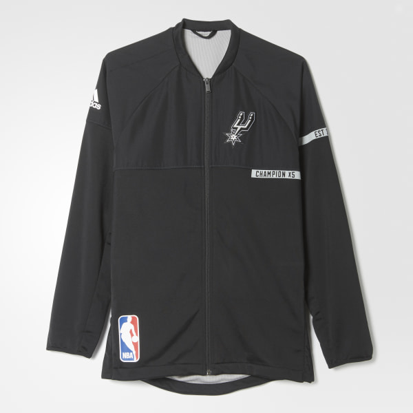 760ac3632 Spurs On-Court Warm-Up Jacket San Antonio Spurs BK7633