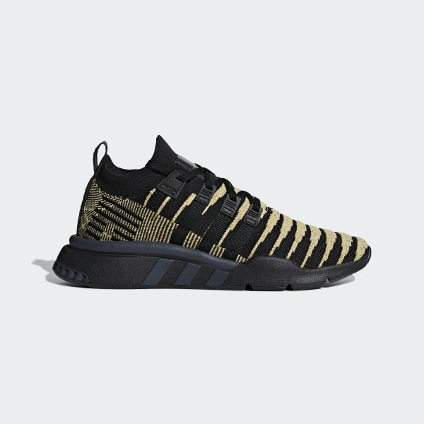 save off c7aa0 a6a5d Dragonball Z EQT Support Mid ADV Primeknit Shoes Core Black   Core Black    Gold Met