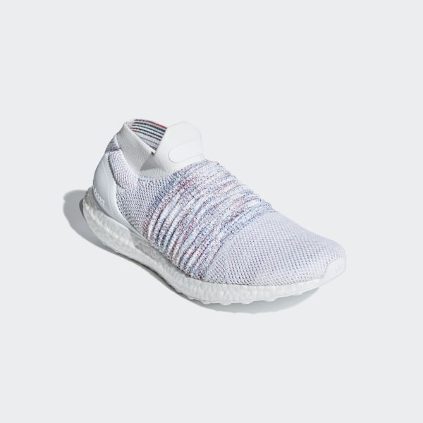 fd7627d7124bc Ultraboost Laceless Shoes Cloud White   Active Red   Active Green B37686