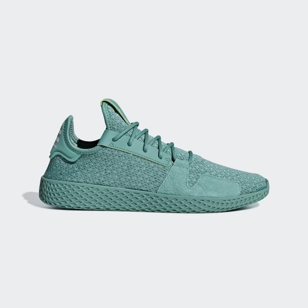 a3b91ab06749 Pharrell Williams Tennis Hu V2 Shoes True Green   True Green   Ftwr White  DB3328