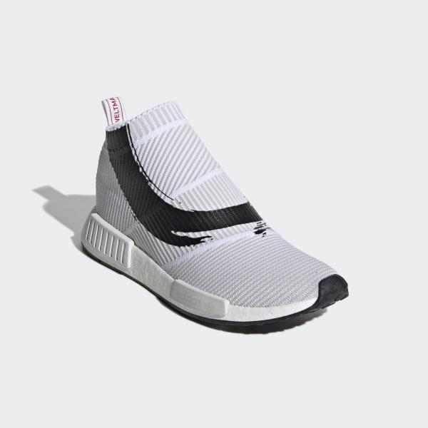 a3e4e2c33 NMD CS1 Primeknit Shoes Cloud White   Cloud White   Core Black BB9260