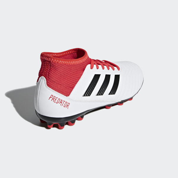 3dbbe63e5e3c Predator 18.3 Artificial Grass Boots Ftwr White   Core Black   Real Coral  CP9020