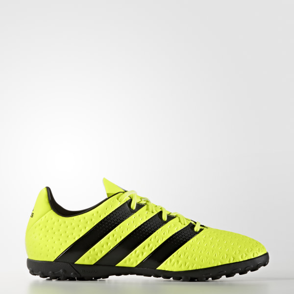 Zapatos de fútbol para césped artificial ACE 16.4 SOLAR YELLOW   CORE BLACK    SILVER MET 5310322c35ecc
