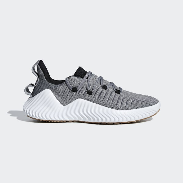 ae49f33139432 Alphabounce Trainer Shoes Grey Three   Core Black   Raw Desert BB6949