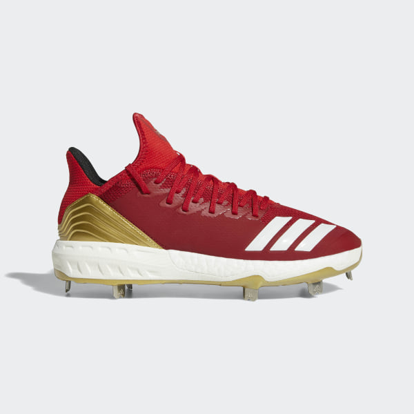 Boost Icon 4 Cleats Power Red   Running White   Scarlet AQ0098 ba2c9f353