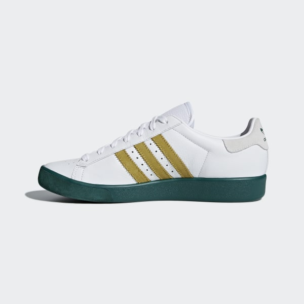 info for f021f fd831 Forest Hills Shoes Ftwr White  Gold Met.  Collegiate Green AQ0921