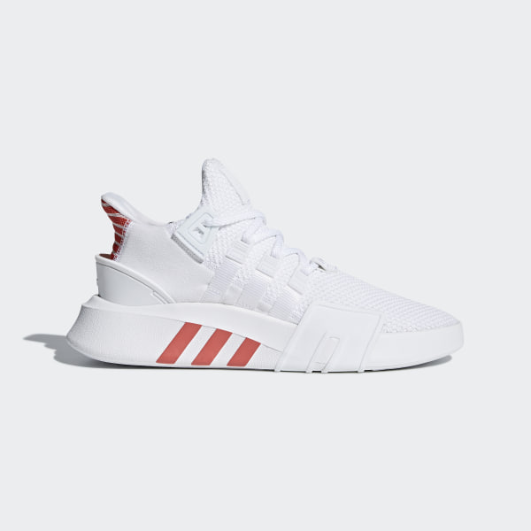 5f7dbe6c2ce EQT Bask ADV Shoes Ftwr White Ftwr White Trace Scarlet CQ2992