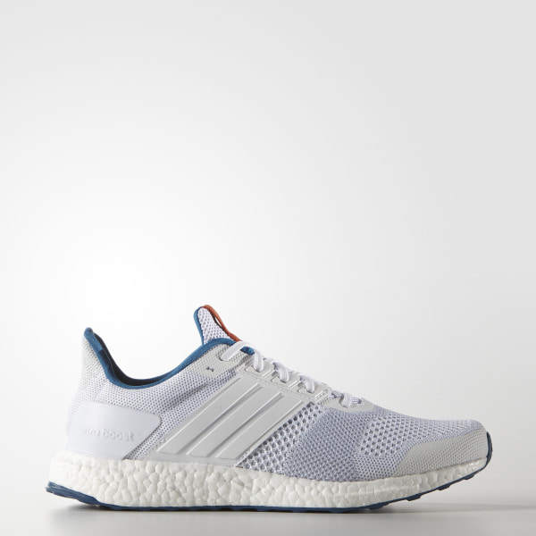 fd12bbbcf ULTRABOOST ST Shoes Cloud White   Cloud White   Orange BB3933
