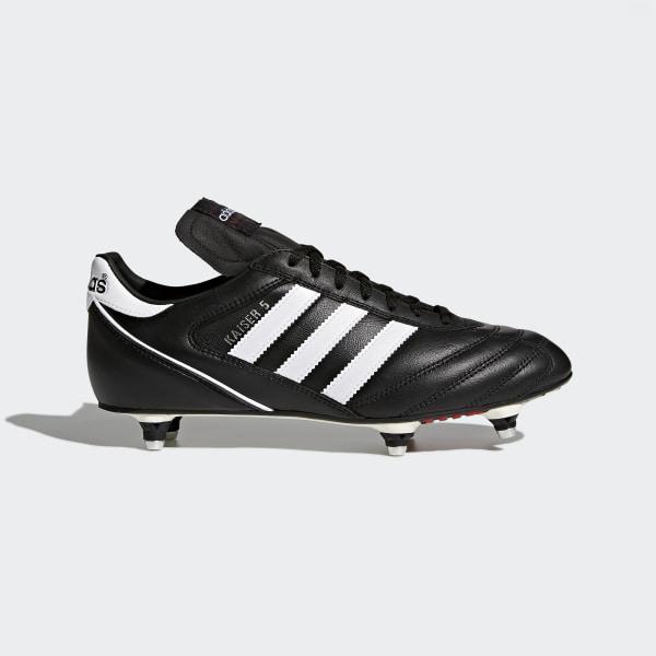 16adc9c6db4f Bota de fútbol Kaiser 5 Cup Black   Footwear White   Red 033200